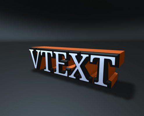 VText material