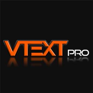 Vtext Pro logo
